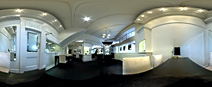 HDR panorama - Holloway Diamonds, Canterbury - halogens, metal halide and daylight